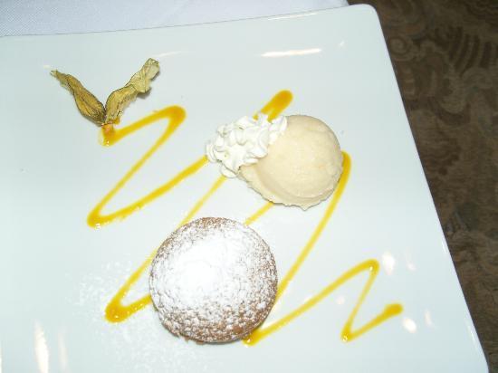 arthaus HOTEL: dessert glacé