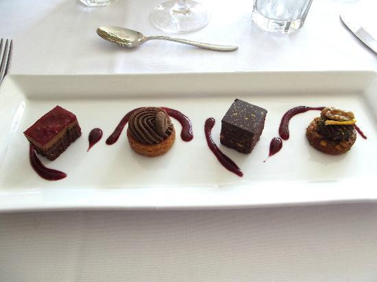 The Little Inn : Assorted truffles (Easter brunch menu)