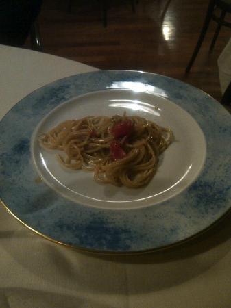 Ristorante La Pineta: Spaghetti al pomodoro di mezzanotte