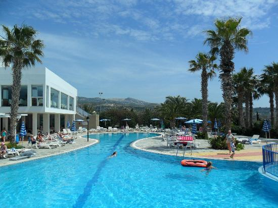 Pool Area Picture Of Ascos Coral Beach Hotel Paphos