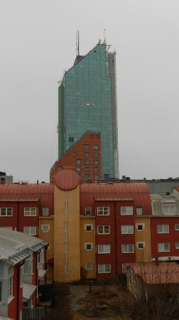 Hotel Arkad : vu depuis la chambre , coté cour