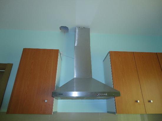 Hotel Ramon y Cajal: Techo de la cocina