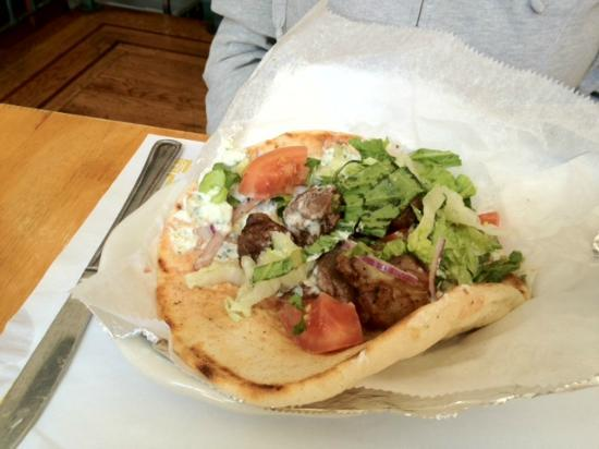 Uncle Nick's: Lamb Souvlaki
