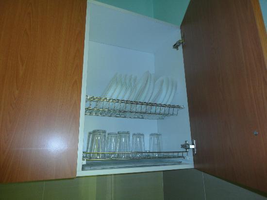 Hotel Ramon y Cajal: Menaje