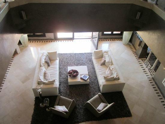 Villa Malika Silvana : vue du salon