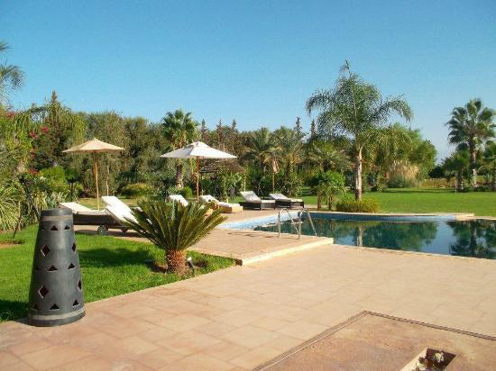 Villa Malika Silvana : vue depuis la maison