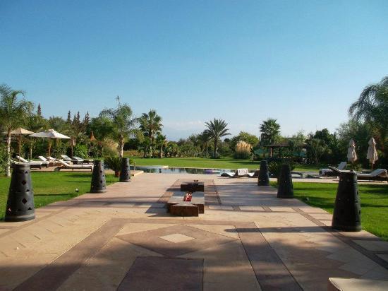 Villa Malika Silvana: vue depuis la maison