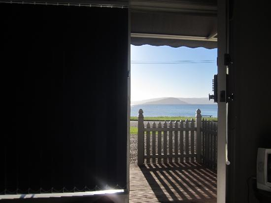 Jack & Di's Troutbeck Lodge Guest Rooms: Our front door