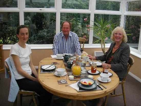 Birling House B & B: El desayuno