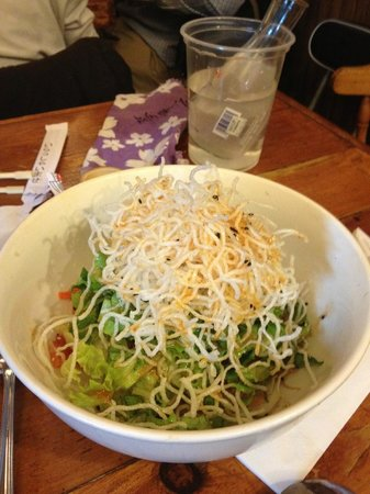 Kazu: Salman and Tuna Salad