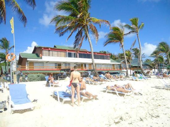 Decameron San Luis : Hotel vue de la plage