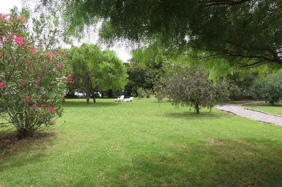 Posada de Campo Gondwana: Parque de acceso a piscina