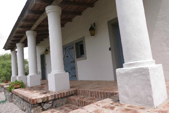 Posada de Campo Gondwana: Entrada a las dos habitaciones