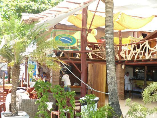 Sambass Cafe Restaurante: Excelente opción para almorzar un sándwich en la playa!