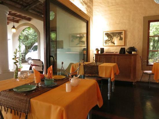 Posada de Campo Gondwana: Restaurante