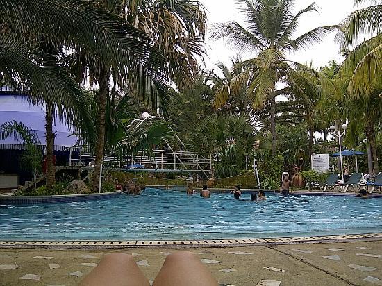Oasis Hotel : Excelente piscina, amplia y con variedad de espacios