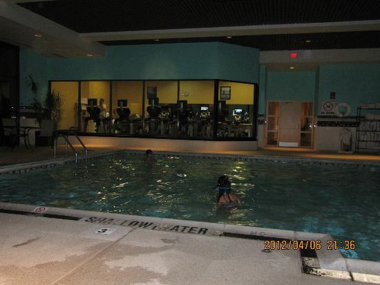 Pittsburgh Airport Marriott: Pool and Fitness Center