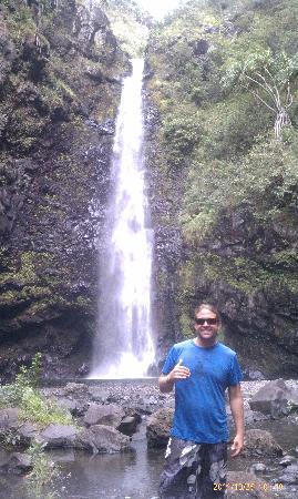 Paia, هاواي: Alelele Falls in Kipahulu:)
