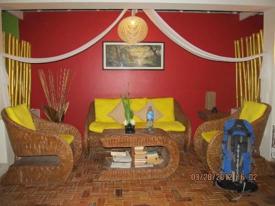 Villa Medamrei: Lobby area