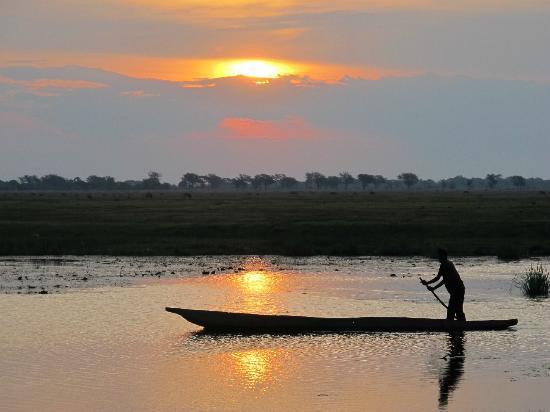 نجوما سفاري لودج: SUNSET - Chobe River
