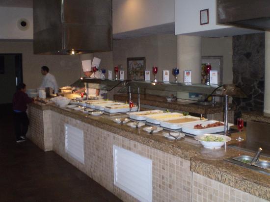Occidental Nuevo Vallarta: Le buffet prise 3