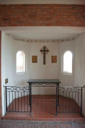 Inside the First Presbyterian Church