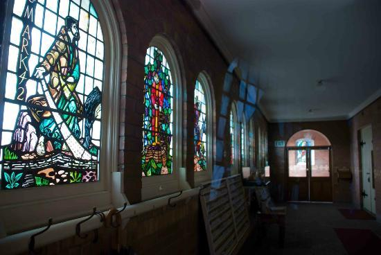 First Presbyterian Church: Peeking inside the church