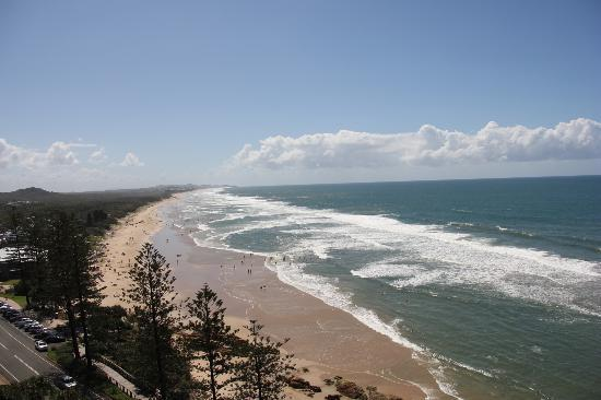 Clubb Coolum Beach: Stunning views!