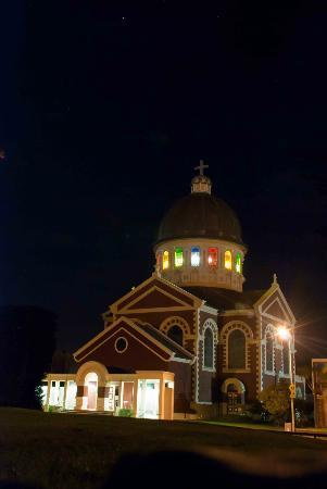 St. Mary's Basilica: St. Mary's at night... Wow!