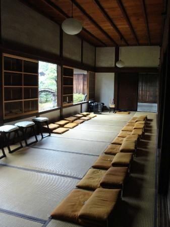 Shunkoin Temple Guest House: Meditation room