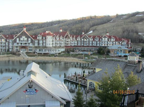 Seasons at Blue - Blue Mountain Resort: View from our room