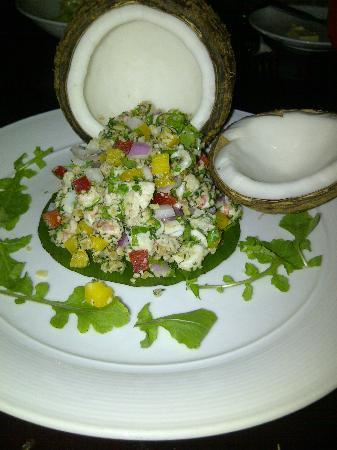 Restaurant Bobby Chinn: seafood ceviche
