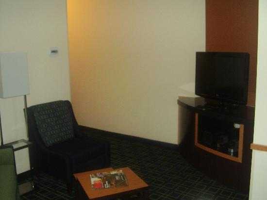 Fairfield Inn & Suites Muskogee: zona giorno