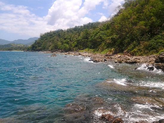 Tuko Beach Resort: Swimming Area