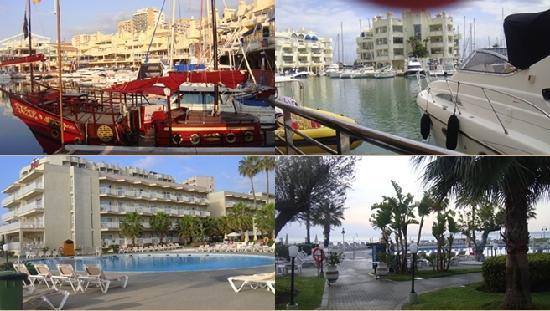 Hotel Riu Nautilus: la piscine et lza marina