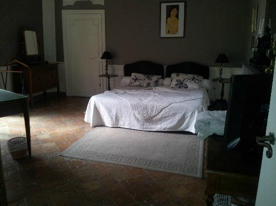 Château d'Arpaillargues : la chambre