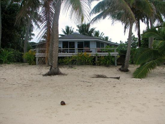 Sands Villas: House from the beach