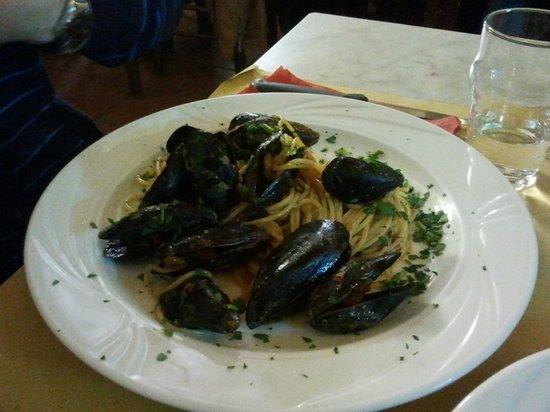 La Tavernetta : Spaghetti allo scolgio
