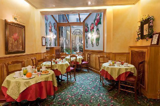 Hotel Harvey: Breakfast room