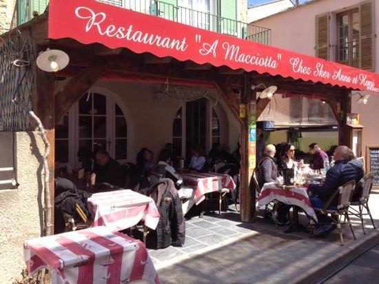 Centuri, Francja: il ristorante