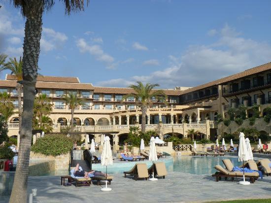 Elysium Hotel : Blick von der Promenade