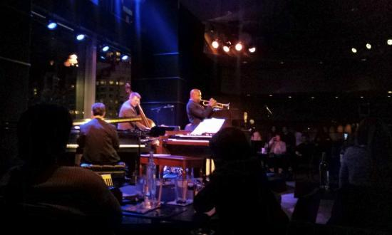 Jazz at Lincoln Center: Jazz band at Dizzy's Club, Lincoln Centre