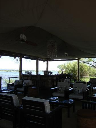 Wilderness Safaris Toka Leya Camp: main lounge area
