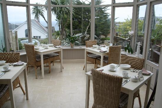 Breakfast Room Picture Of Headland House Carbis Bay Tripadvisor