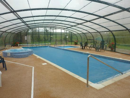 Bocaddon Farm: Pools
