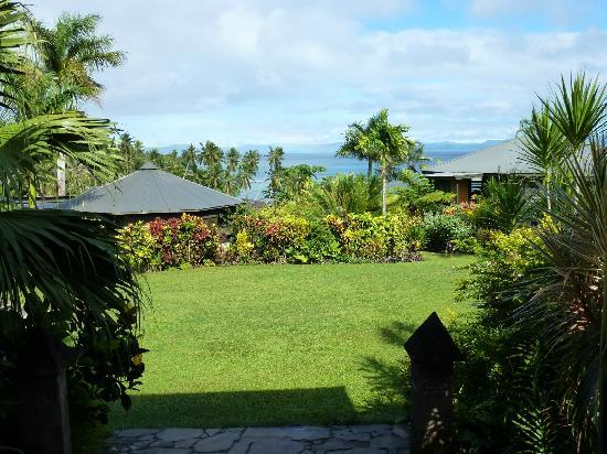 Taveuni Island Resort & Spa: View from Reception