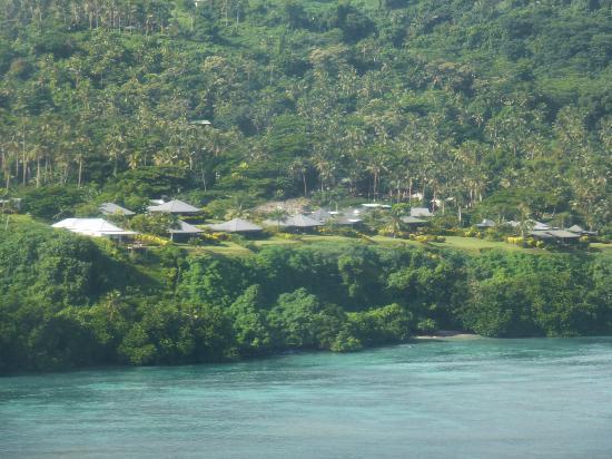 Taveuni Island Resort & Spa: Resort from the air