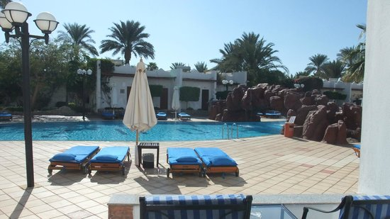 Hilton Sharm El Sheikh Fayrouz Resort : The view from the room