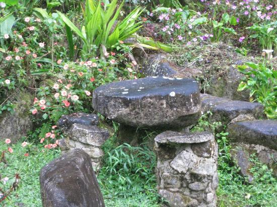 Hotel Uran: Meditation Garden in Cloudbridge Reserve