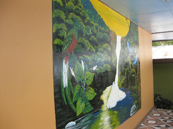 Hotel Uran: Mural at Hotel El Uran